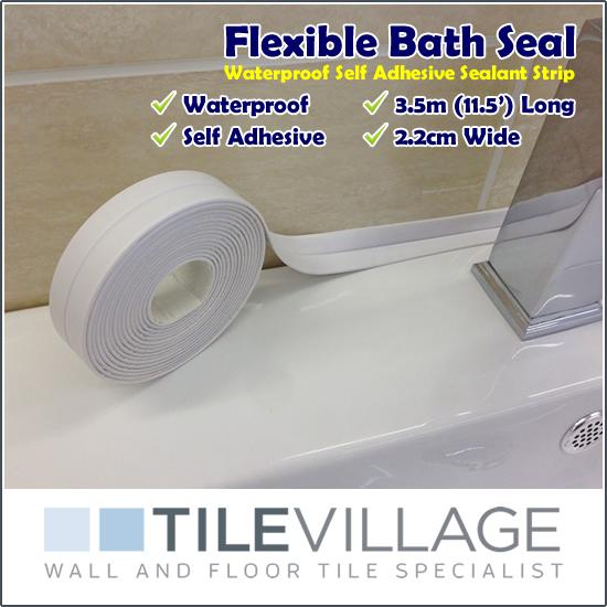 3 5m Self Adhesive Waterproof Bath Shower Sinks Sealing