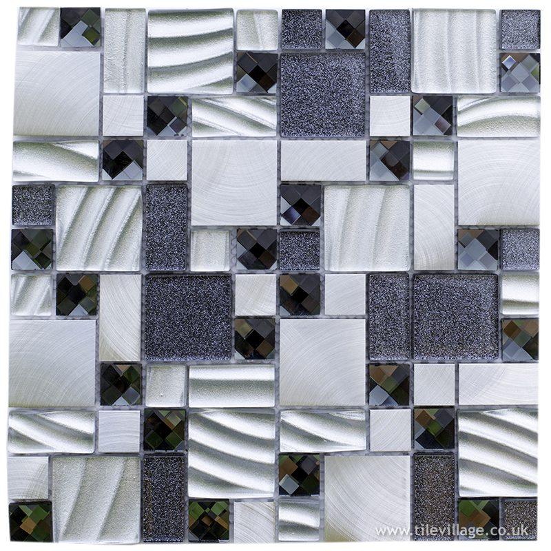 Fusion Silver Mosaic
