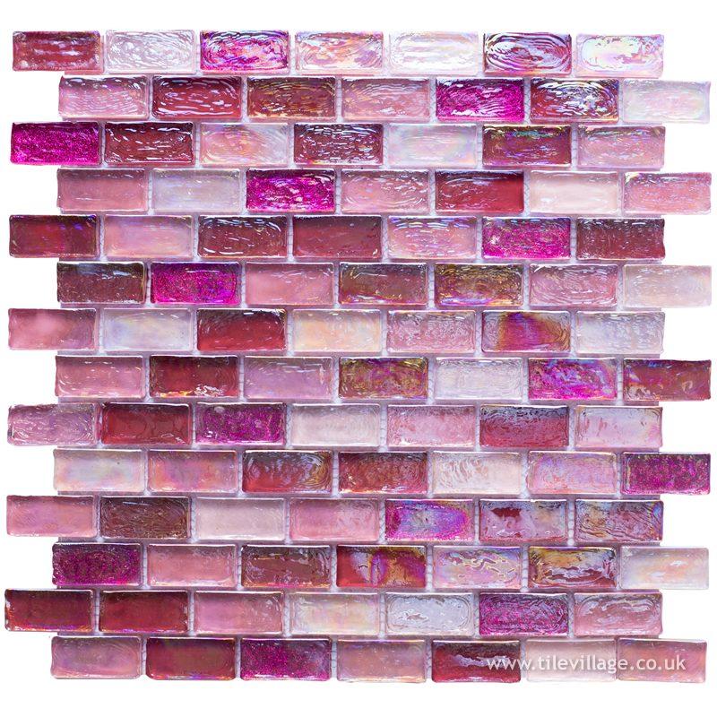 Luxury Pearl Pink Mosaic