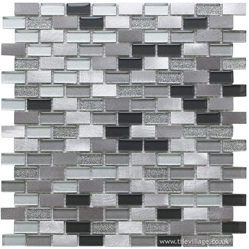 Modern Silver Mosaic