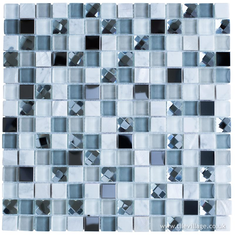 Starlight White Mosaic