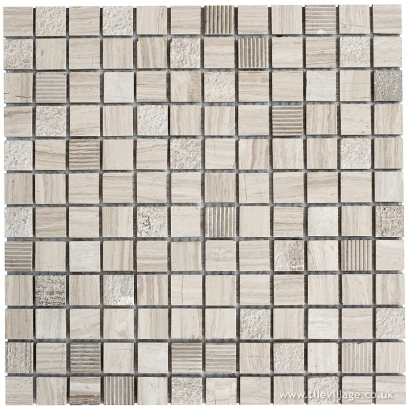 Stone Grey Mix Mosaic